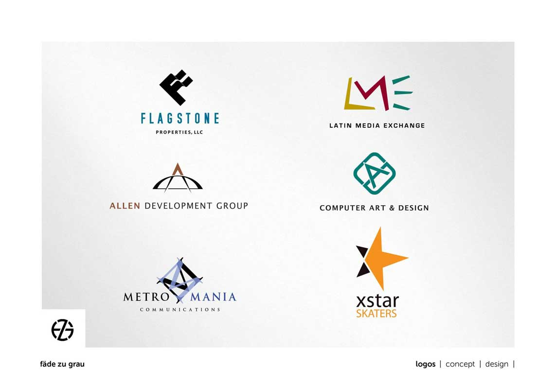 graphic design logo samples