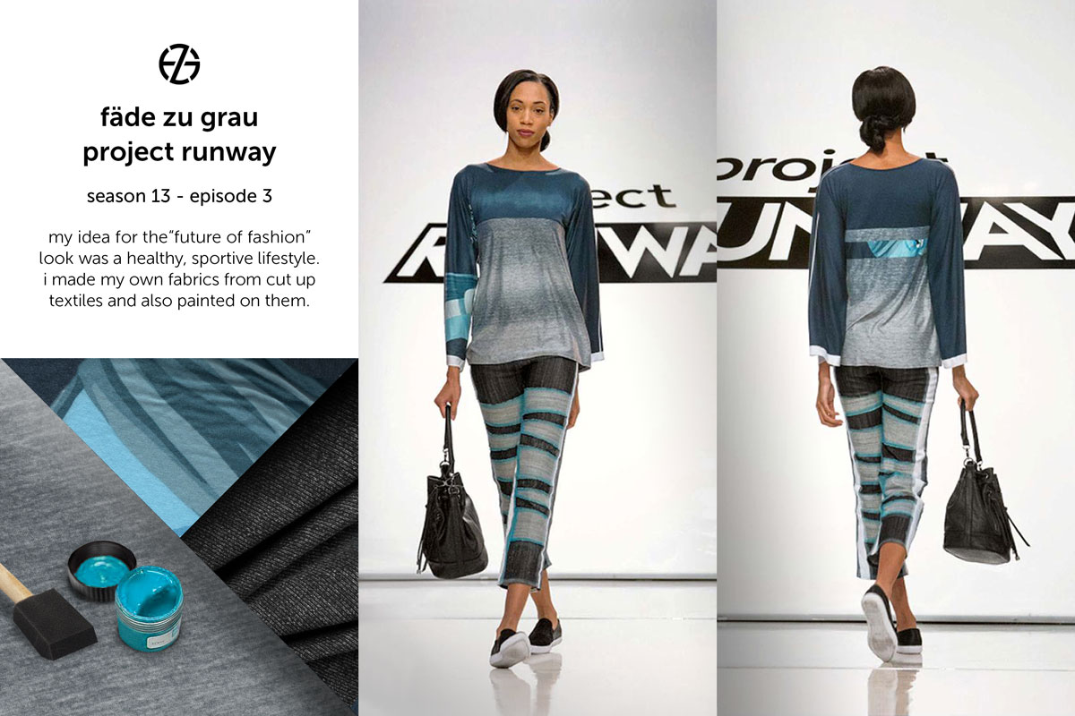 fade zu grau's look at project runway season 13, episode