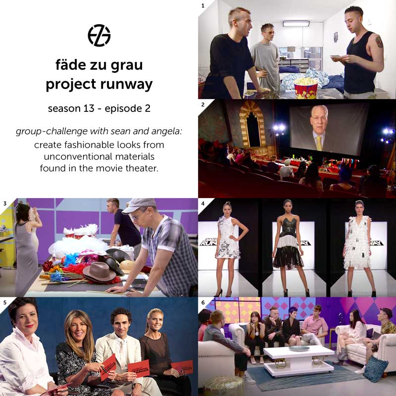 images from project runway season 13, episode 2
