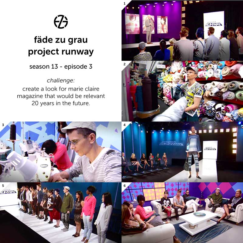 images from project runway season 13, episode 3