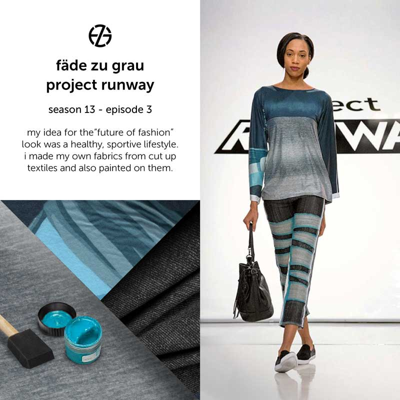 fade zu grau's look at project runway season 13, episode 3