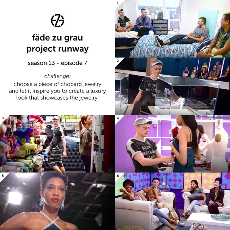 images from project runway season 13, episode 7