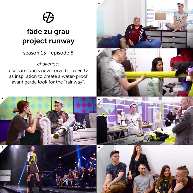 images from project runway season 13, episode 8