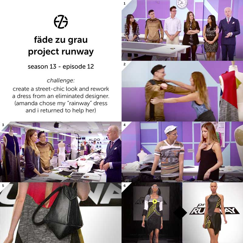 images from project runway season 13, episode 12