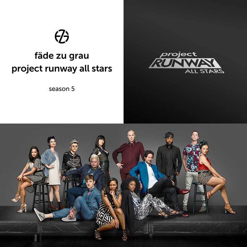 group image of the cast of project runway all stars season 5